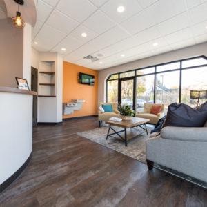 Hamilton Dental Designs Reception Area