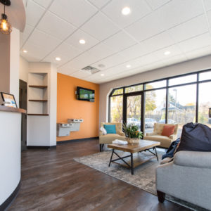 Hamilton Dental Designs Waiting Area