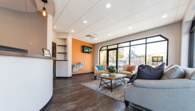 Hamilton Dental Designs Waiting Area